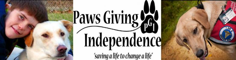 Paws Giving Independence Custom Shirts & Apparel